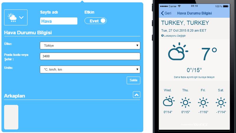 Mobil Uygulama Bilgi Merkezi