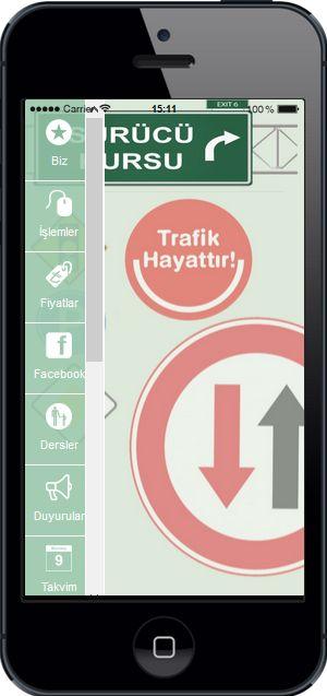 Sürücü Kursu Mobil Uygulama