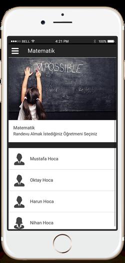 Etüt Merkezi Mobil Uygulama, Etüt Merkezi Randevu Mobil Uygulama,Dershane Mobil Uygulama, Özel Ders Mobil Uygulama, Etüt Merkezleri için Mobil Uygulama
