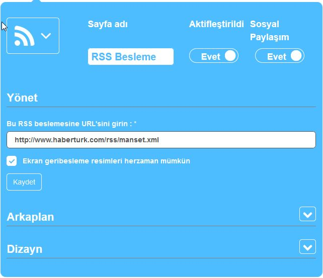 Mobil Uygulama RSS Haber Beslemesi Ekleme, mobil haber uygulaması, mobil gazete uygulaması yapmak, mobil uygulama haber uygulaması yapmak