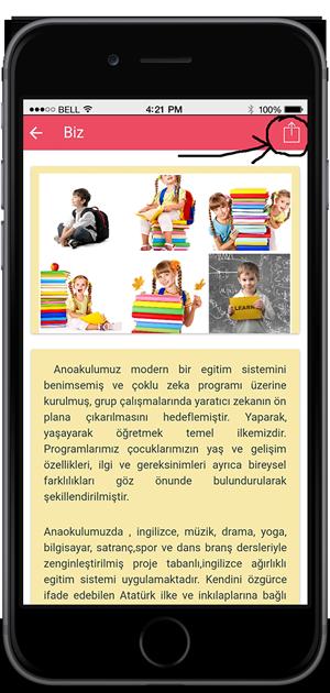 Mobil Uygulama Sosyal Paylaşım Fonksiyonu, Mobil Uygulama Sosyal Paylaşım Özelliği, Mobil Uygulamaya Sosyal Paylaşım butonu ekleme