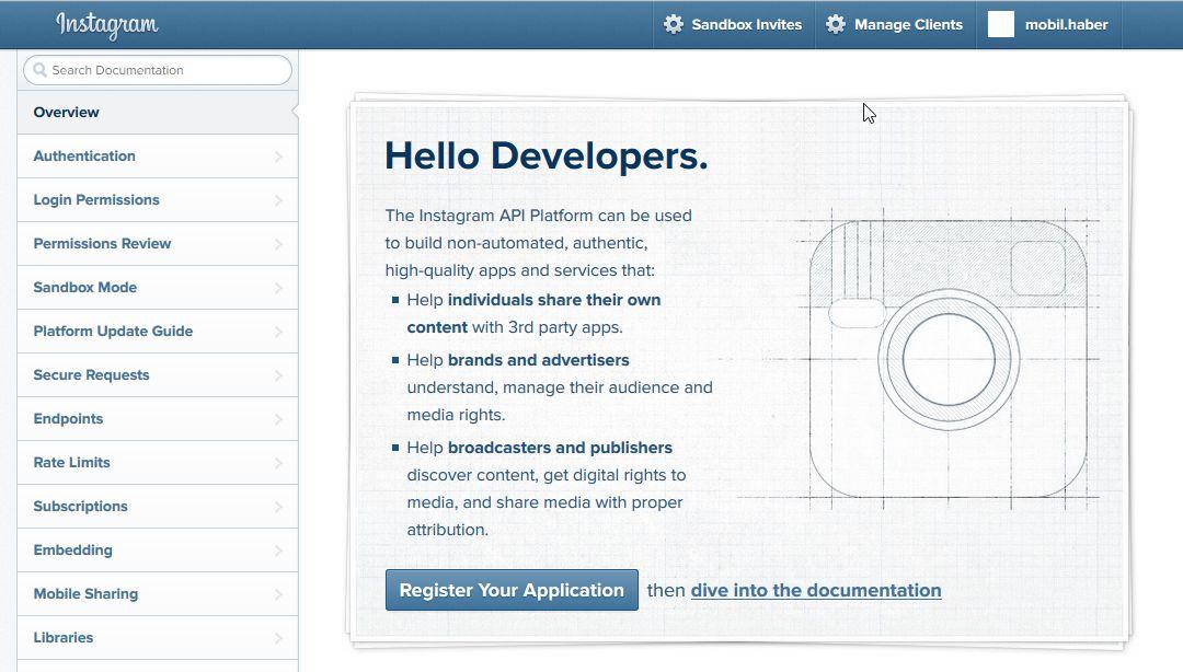Instagram Hesabınızı Mobil Uygulamaya Entegre Etmek, instagram access token oluşturma, instagram mobil uygulama API oluşturma basit ve hızlıdır