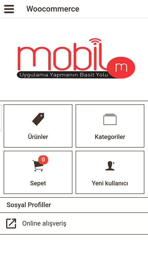 WooCommerce Uygulamaya Entegre Etmek, woo commerce mobil uygulama, wordpress mobil uygulama, websitesi mobil uygulama, opencart mobil uygulama yapmak