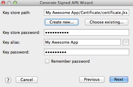 Android Studio ile APK Oluşturma